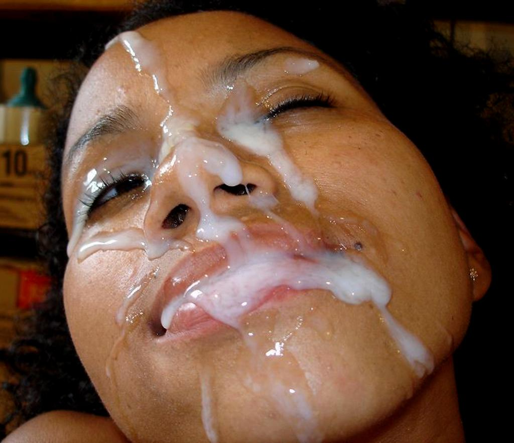 biggest facial cum