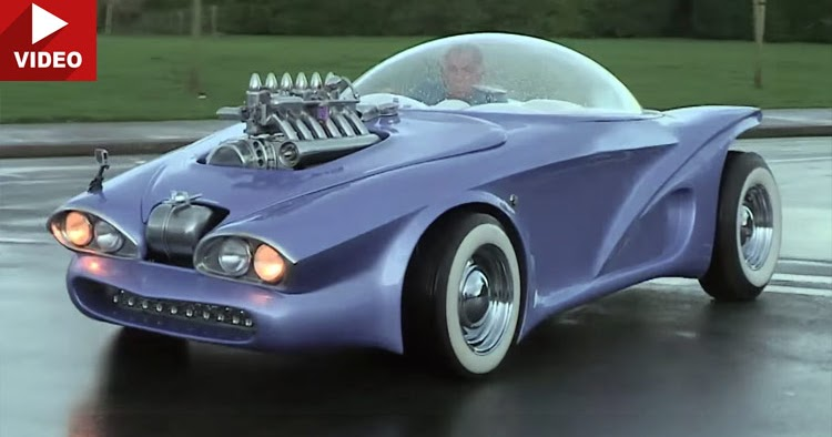 Cosmotron Is A Bmw Z3 In A 1960s Space Age Costume