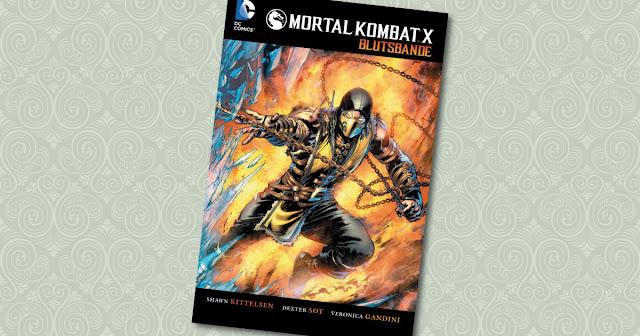 Mortal Kombat X Panini Cover