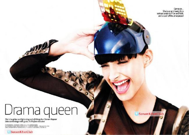 Hot Sonam Kapoor 2011 Filmfare Mag Cover Scans
