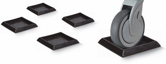 Superbe Furniture Wheel Stoppers   No More Rolling Beds And Chairs