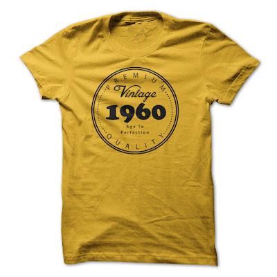 Vintage 1960 - Premium Quanlity