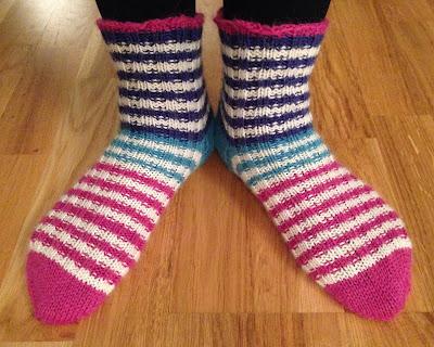 sterkt garn til sokker