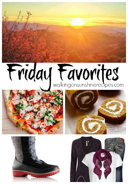 My Friday Favorites this week are also all about my favorite month of October.