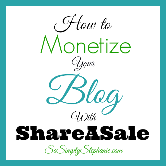 Monetize Your Blog With ShareASale!
