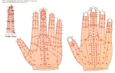 meridiany w dłoniach