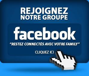 Rejoignez-vous notre Groupe FB