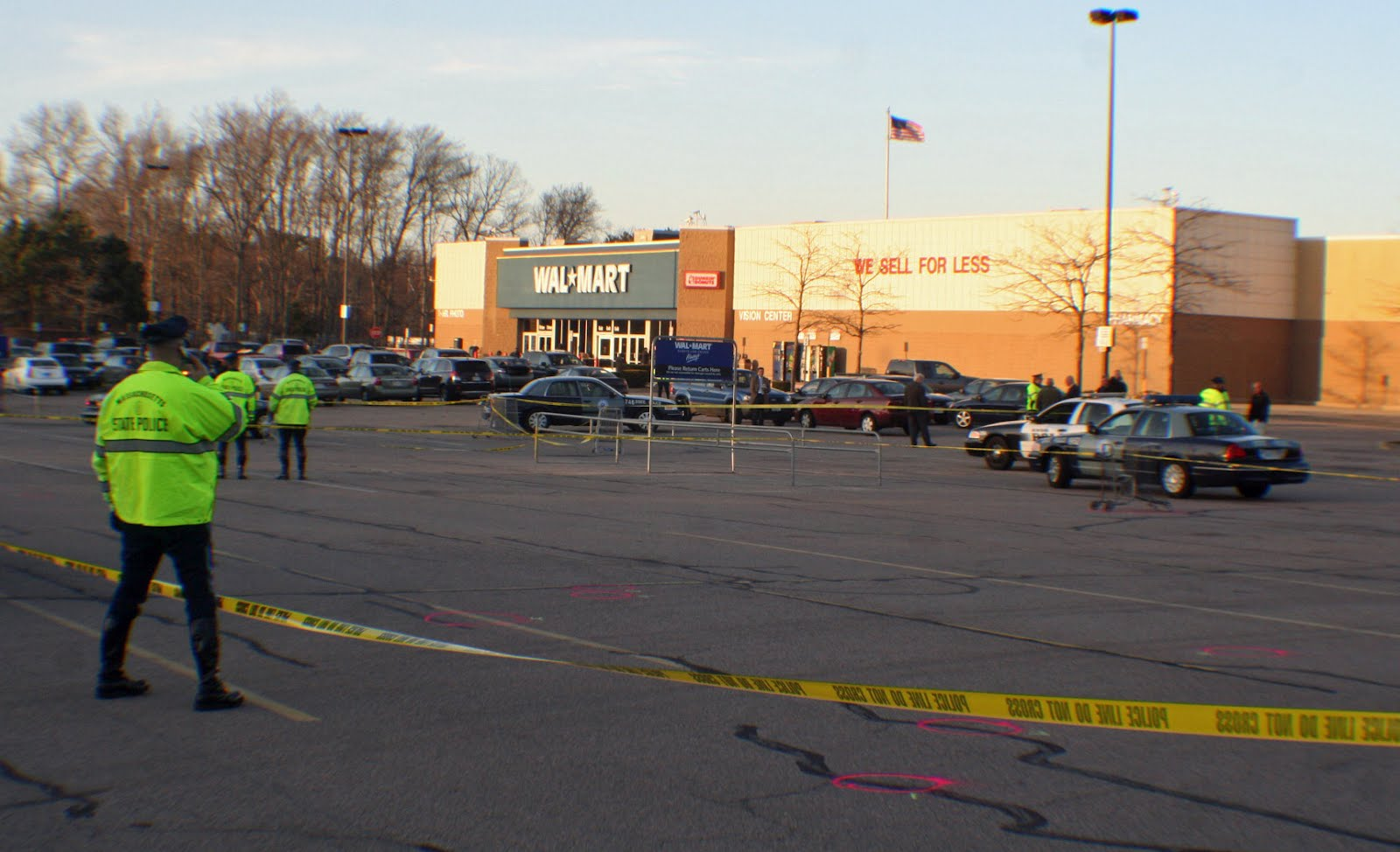 murder hem corruption  brockton as shoppers pulled into either entrance of the walmart in avon many were surprised to several things topping the list for some was that