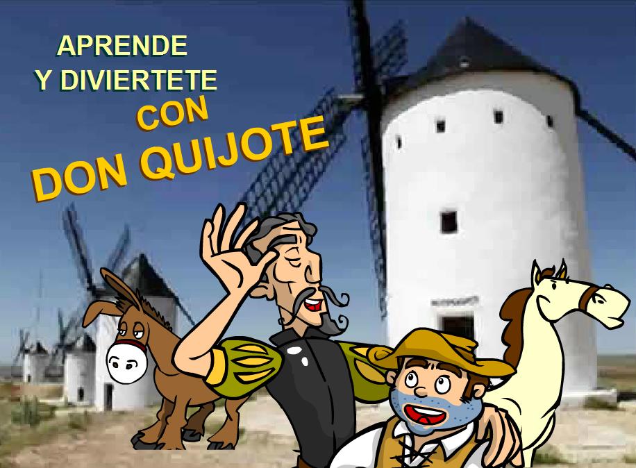 http://www.primerodecarlos.com/SEGUNDO_PRIMARIA/abril/aprende_diviertete_quijote/index2.html