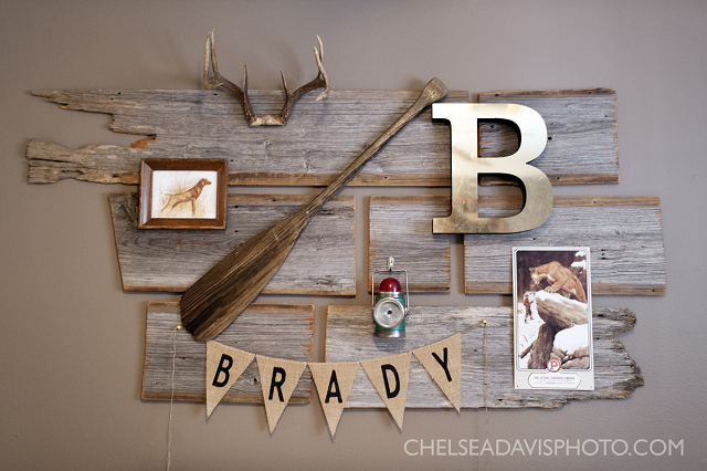 Hunting nursery designed by ashley from southern farmhouse designs