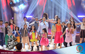 "Team Lea's young artists kicked off ""The Voice Kids"" Philippines Battle Rounds"