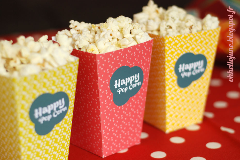 Pop corn party I DIY/