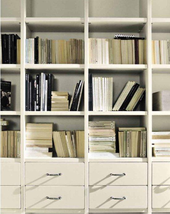 Arredamento e casa libreria nella zona giorno o in - Librerie da camera ...