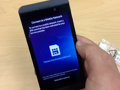 BlackBerry 10 Unboxing