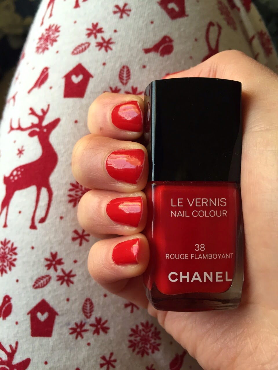 Chanel Le Vernis Nail Colour - 38 Rouge Flamboyant