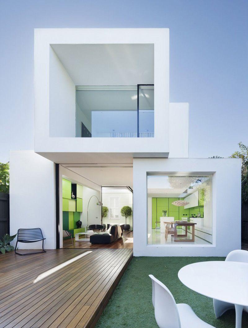 Casa moderna y sostenible Shakin Stevens / Matt Gibson Architecture ...