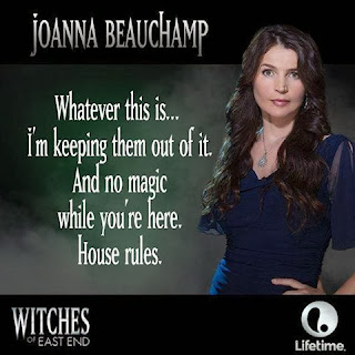 Joanna Beauchamp from Witches of East End