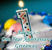 Adyna's Giveaway...