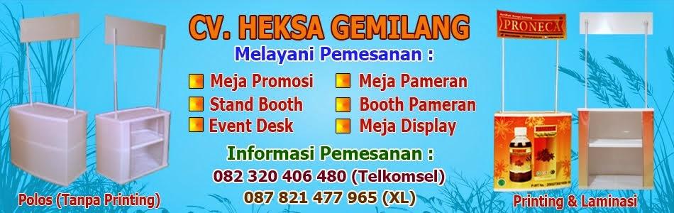Meja Promosi Murah, Meja Promosi Bongkar Pasang, Meja Promosi Bandung, Jual Meja Promosi