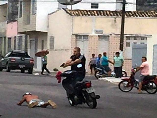 Militar de folga vai a velório e prende assaltante em flagrante