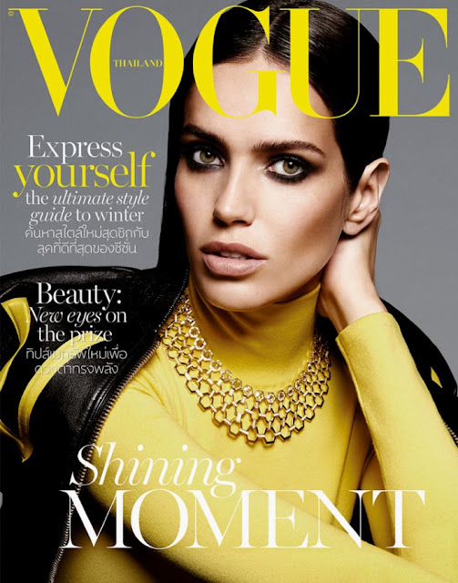Fashion Model @ Amanda Wellsh by Yu Tsai for Vogue Thailand, November 2015