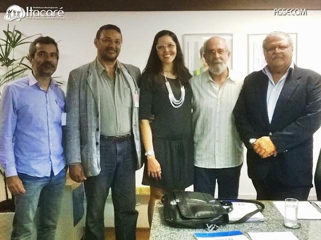 Últimos detalhes do Projeto Orla de Itacaré foram discutidos.