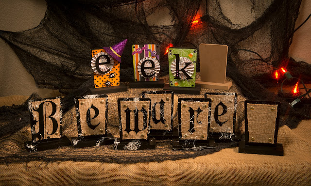 Halloween Signs @craftsavvy @sarahowens #craftwarehouse #halloween #signs #decoration #diy #party