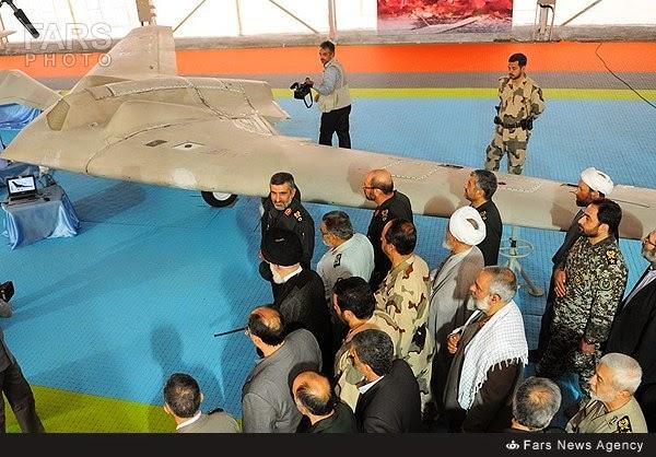 Iran RQ-170 Drone Prototype