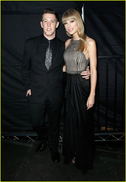 Taylor Swift and her date Kevin McGuire