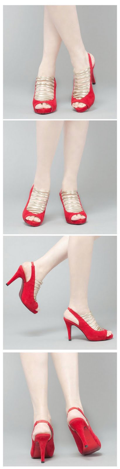 Hot Red Shoes For Spring Parties