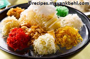 Yu-Sheng recipe