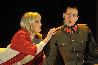 Louise Alder (Poppea), Rannveig Karadottis (Nerone) - L'Incoronazione di Poppea - 2012 - Royal College of Music