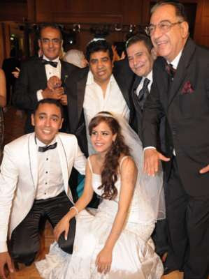 حفل زفاف لمياء ابنة الفنان الكبير احمد راتب