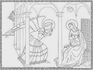 Image Result For Mary Angel Coloring