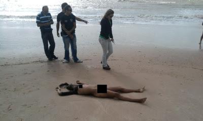 Mulher Encontrada Morta E Nua Na Praia Do Bessa