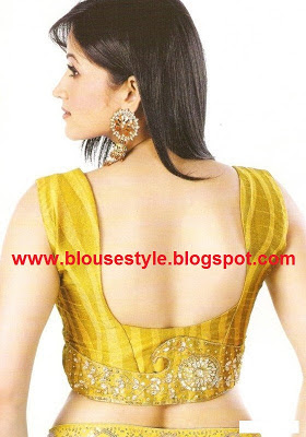 U shape back neck designs