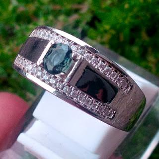 Batu Mulia Green Sapphire Srilanka