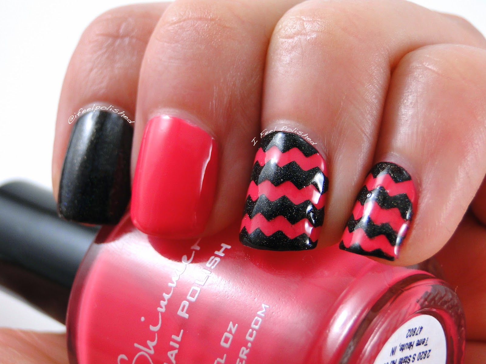 Zigzag Nails