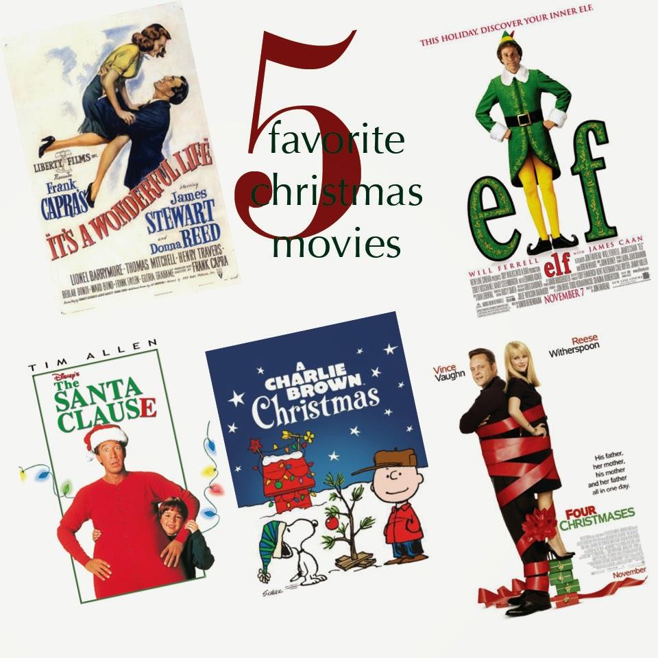5 Favorite Christmas Movies