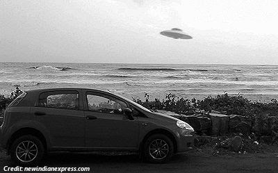 Army Major captures 'UFO' in Kannur, Kerala - 2013