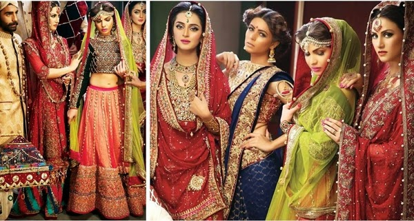 Mohsin Naveed Ranjha Bridal Collection 2015