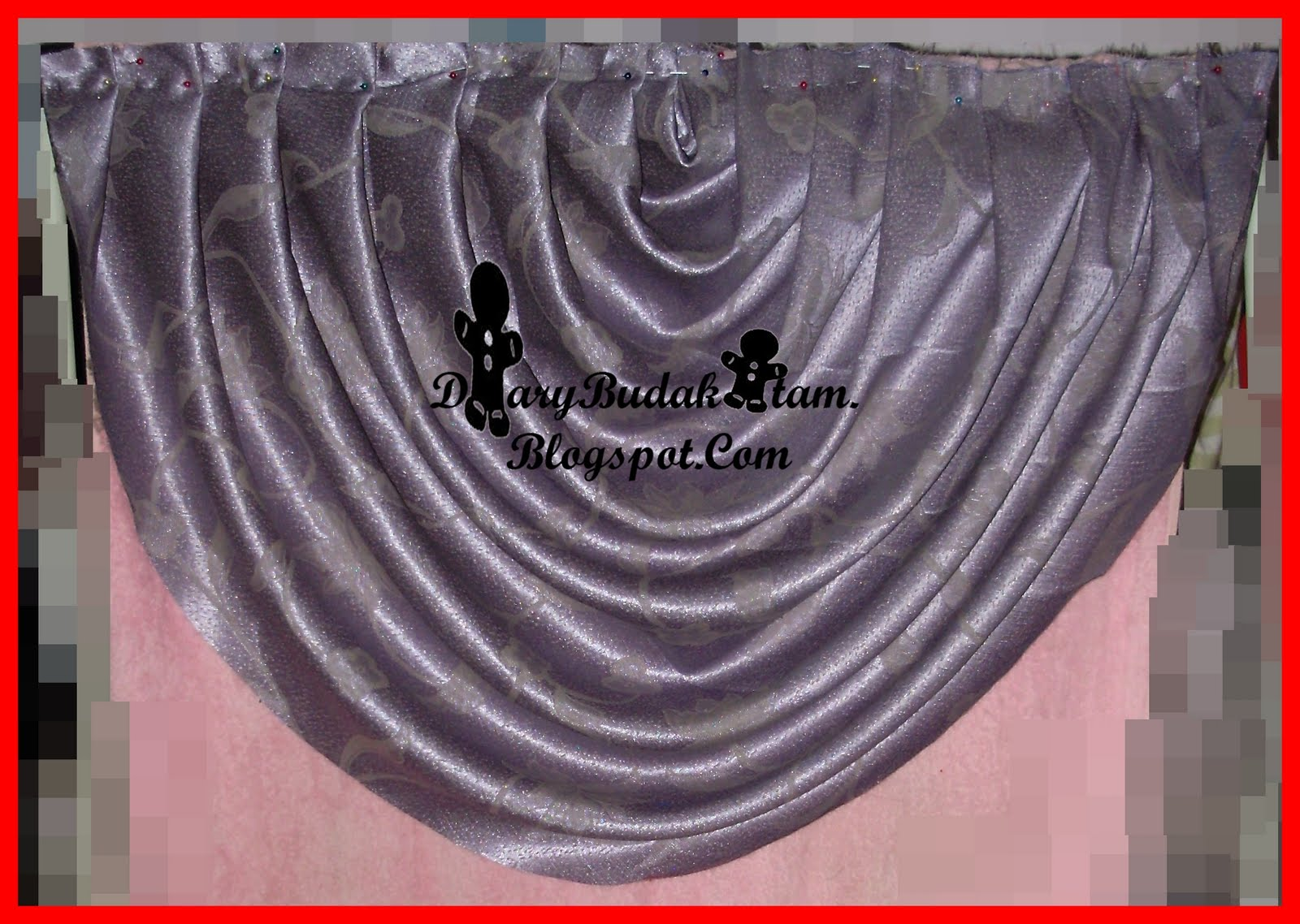 LANGSIR SCALLOP VERSI 1 (swags curtain)