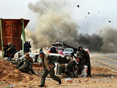 Perfect War in Libya: People vs Qaddafi