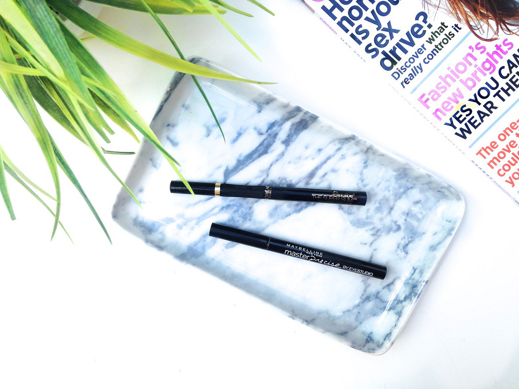 Maybelline Eye Studio Master Precise Ink Pen Eyeliner vs. L'Oreal Infalliable The Super Slim Liquid Eyeliner