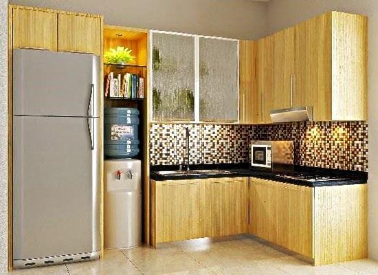 interior desain dapur kecil mungil minimalis terbaru 2015