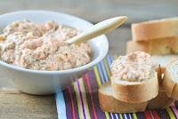 Crema para untar de endibias y salmon