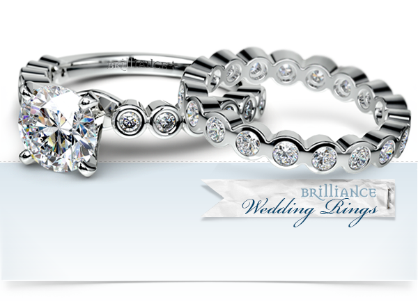 dimond wedding rings infinity band 6 1png - Gorgeous Wedding Rings