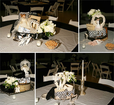 Vintage Wedding Reception Centerpieces Ideas