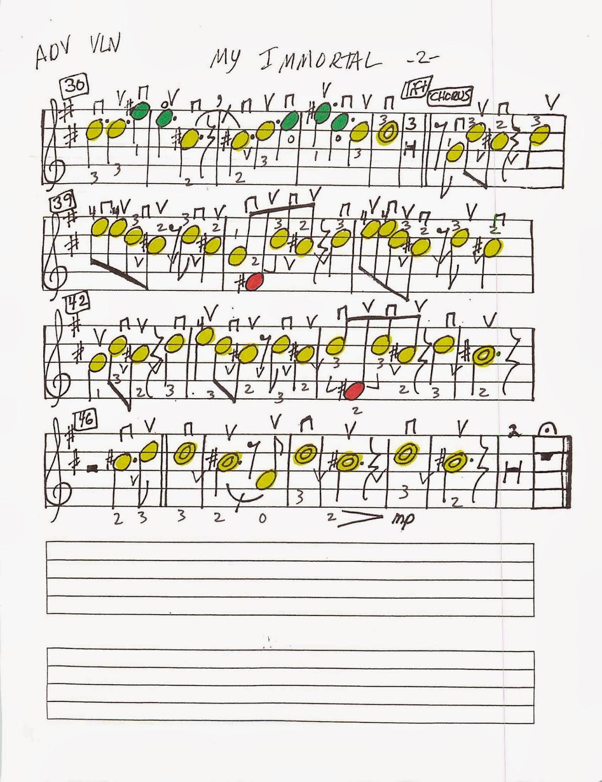 Miss Jacobsonu0026#39;s Music: MY IMMORTAL