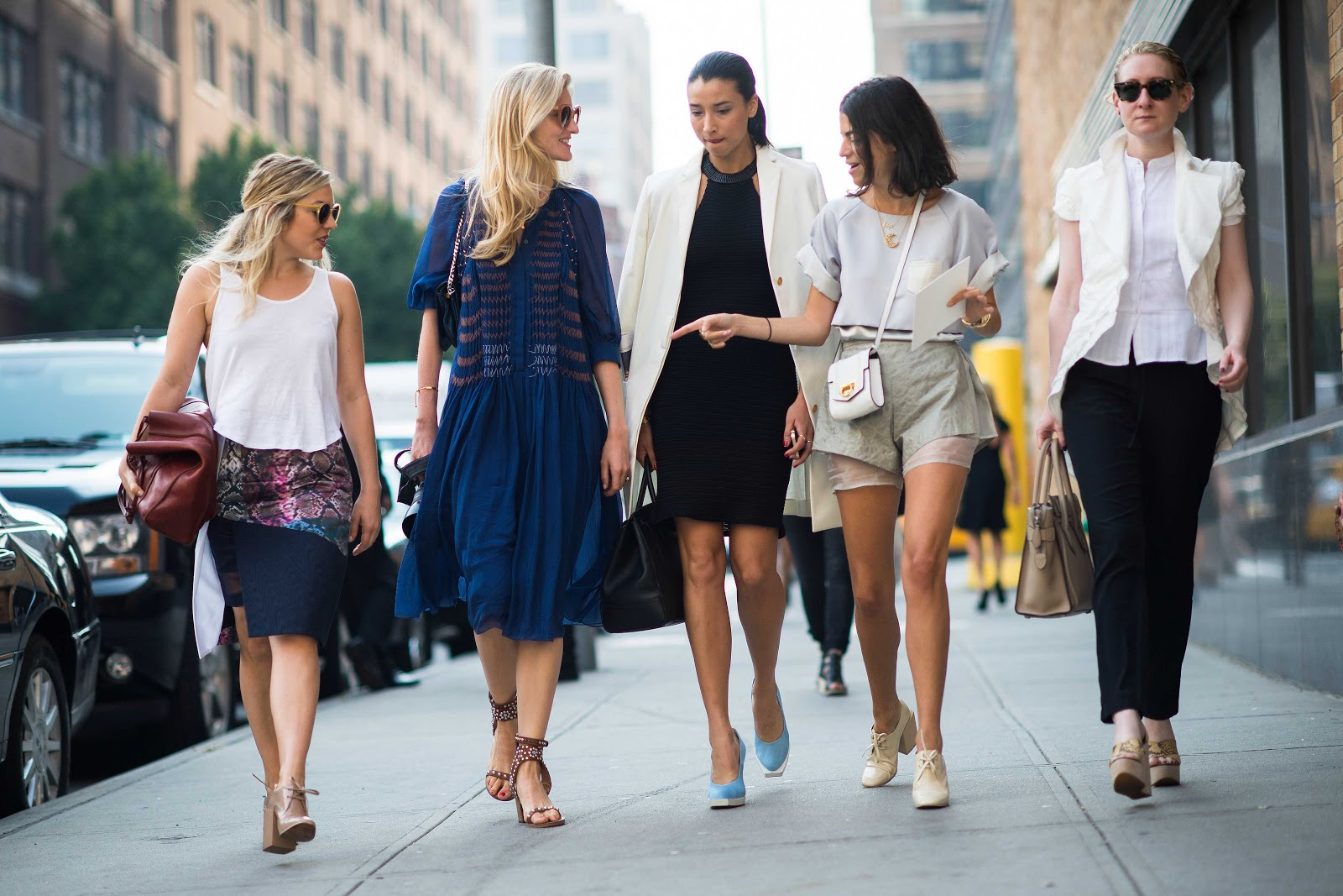 Мода для высоких девушек